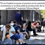 """Teresa Ragni, sobre el coronavirus: """"La Ciudad descuidó la protección de la población"""""""