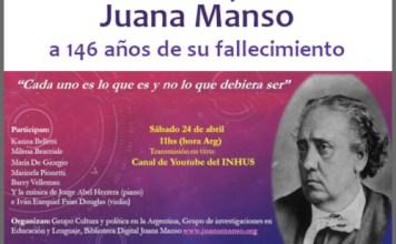 Homenaje a Juana Manso a 146 años de su muerte