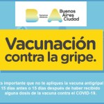 Si sos grupo de riesgo y no tenés cobertura de salud vacunate gratis contra la gripe en la Ciudad