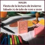 Fiesta de la Lectura de Invierno 2021 en casa y online