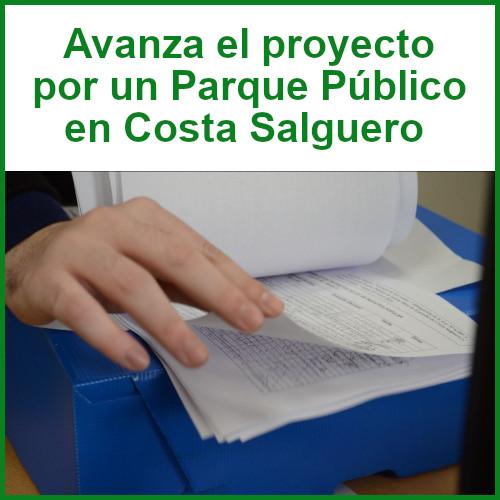 Avanza el proyecto por un Parque Público en Costa Salguero
