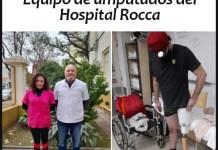 n el Hospital Rocca diseñaron una prótesis para miembro inferior con rodilla y tobillo móvil