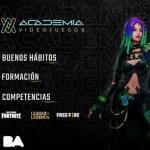 Academia de Videojuegos: formación gratis en videojuegos, streaming y desarrollo