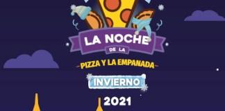 La Noche de la Pizza y la Empanada es el martes 6/7