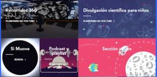 Vacaciones 2021 en el Planetario Galileo Galilei de Palermo