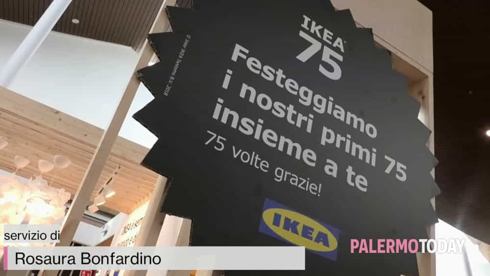 Ikea Sbarca Anche A Palermo Il Colosso Del Mobile Fai Da Te