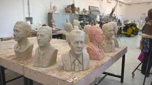 Paolo Borsellino busts