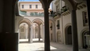 Palazzo Lampedusa corte interna