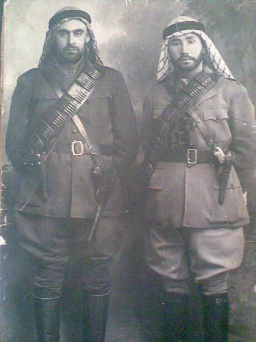 Saffuriyya-صفورية: المجاهد أحمد التوبة و المجاهد نايف المصلح 1939