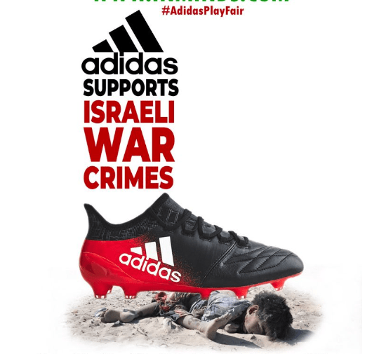 0d1e81c034 BDS urges Adidas to stop supporting Israel Football Association ...