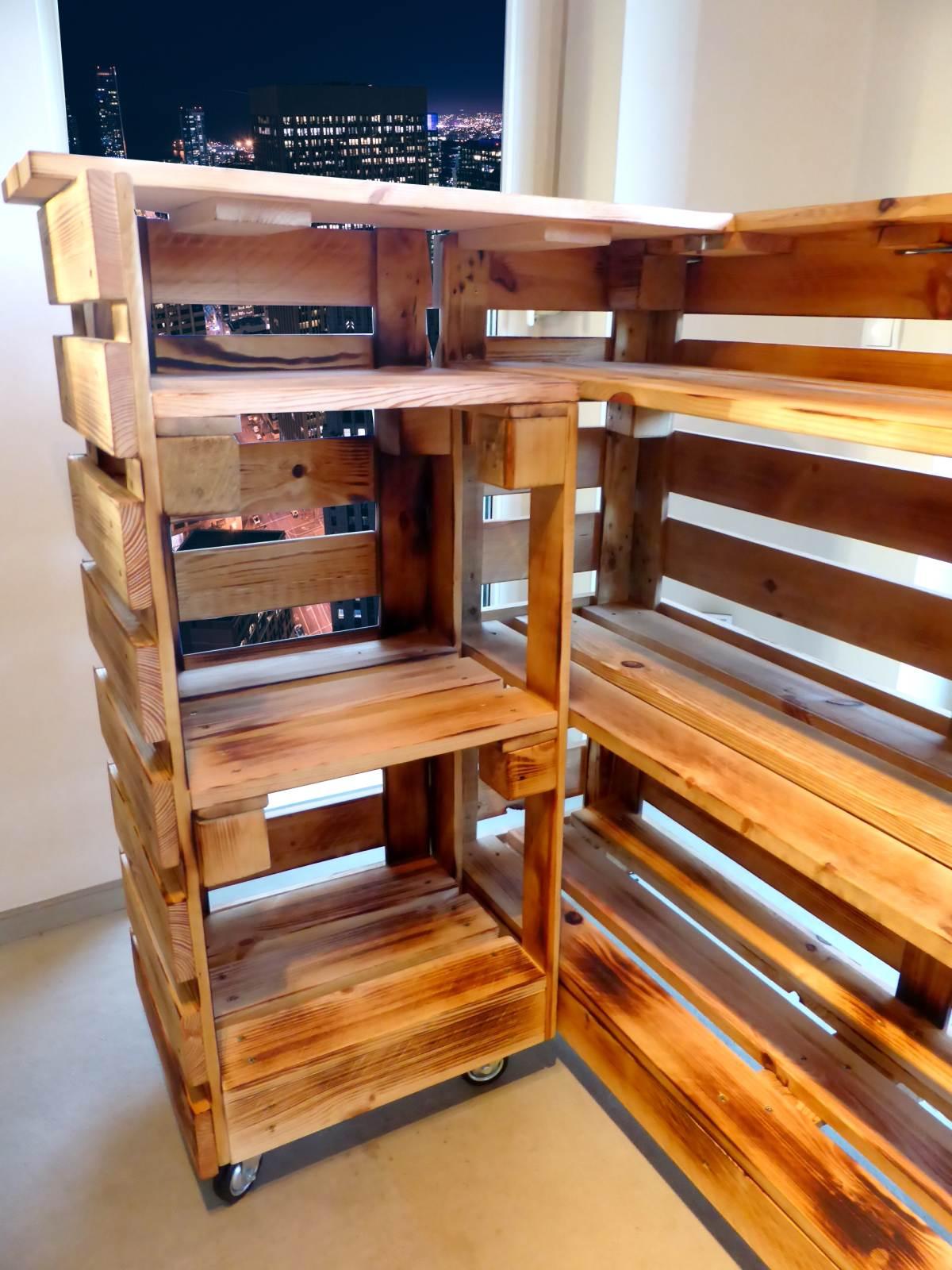 paletten bar paletten tresen. Black Bedroom Furniture Sets. Home Design Ideas