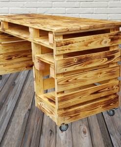 Paletten Tresen Schreibtisch (2)