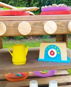 Kinderküche Matschküche aus Paletten Möbel (12)