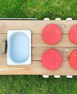 Kinderküche Matschküche aus Paletten Möbel (2)