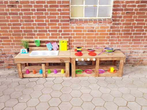 Matschküche Kinderküche aus Paletten Holz MMP 1 (4)