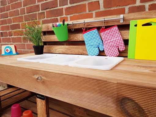 Matschküche Kinderküche aus Paletten Holz XLMP 1 (9)