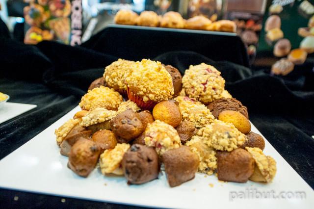 La Rose Noire Muffins