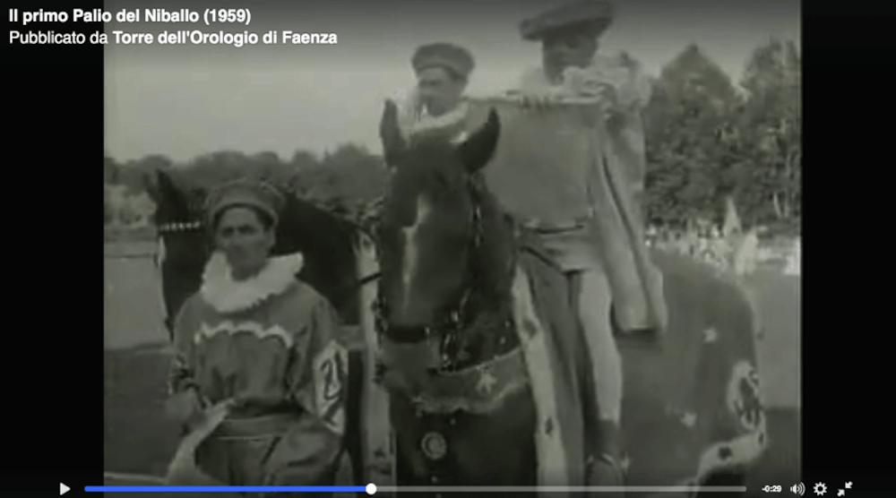 Palio del Niballo 1959
