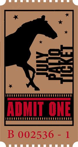 July Palio Ticket