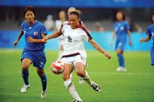 14-Angela Hucles soccer