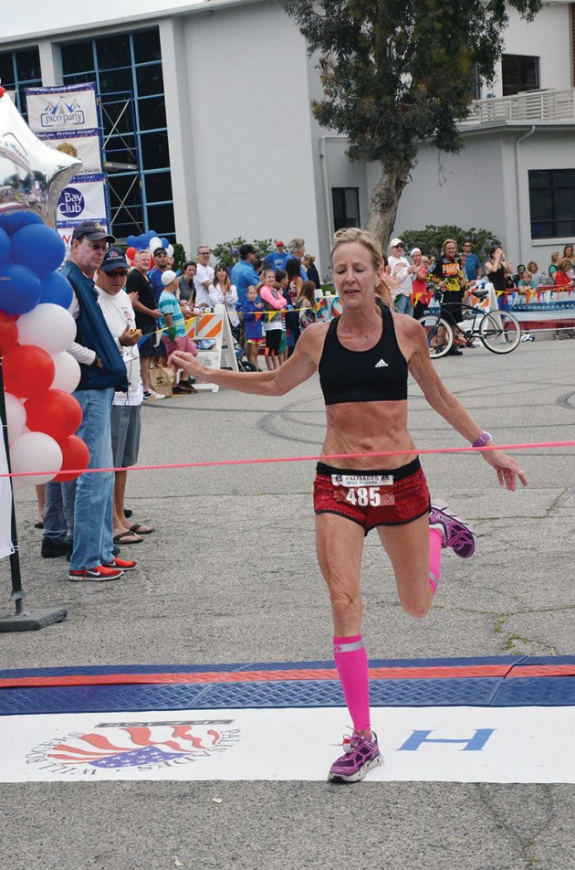 In 2015, Susanne McNeil Eng won the women's 10K (40:33). Photo: Shelby Pascoe