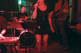 Kelsey Ross, a physical therapist at OptimistSportPT, performs at local venues with the cover band Model Citizen.