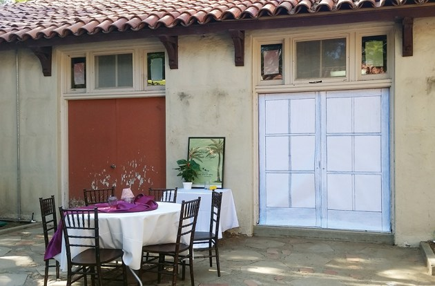 Rustic Canyon residents have raised money to install French glass doors. Photo: Debbie Alexander
