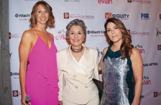Left to right: Laura Nickerson, Senator Barbara Boxer and Nicole Boxer.