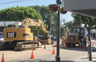 Construction has created difficult challenges for the remaining businesses on Swarthmore.