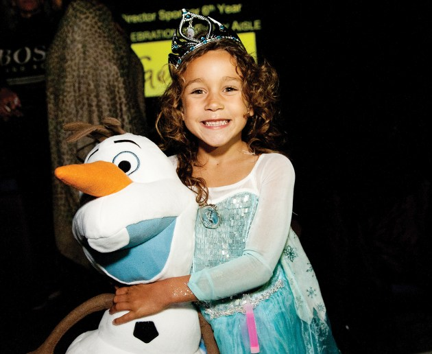 "Mikaela Mokeddem was selected ""Miss Frozen Palisades."""