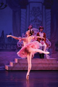 Former Pacific Palisades resident Lucia Connolly danced in the role of the Sugar Plum Fairy in The Nutcracker at The Broad Stage in 2015. Photo: Todd Lechtick