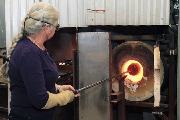 Bromberg heating glass.