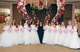 The 2017 debutantes presented at the Coronet Debutante Ball were (left to right) Chelsea Anne Worrell, Ashley Nicole Griess, Caleigh Scott Canales, Sloan Callaway Hooper, Elizabeth Nicolle Glover, Alice Wilson Gould (Coronet Ball Director), Catherine Margaret Rozelle, Josephine Marie Deranja, Arabella Angelina Stadvec, Blair Marie Sullivan, Haley Lynn Worrell and Brigitte Gibson Corbell. Not pictured is Julia Barger. Photo: Lee Salem Photography, Inc.