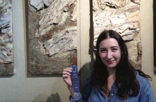 Palisades High School alumna Rosie Galanis has won awards for her art.