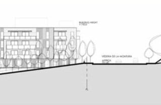 Proposed Palisades Highlands senior living facility Jan. 2018