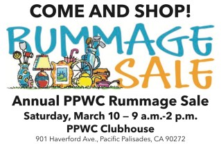 Pacific Palisades Woman's Club Seeks Items for Rummage Sale