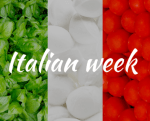Italian Week – Tuesday 24th – Sunday 29th April