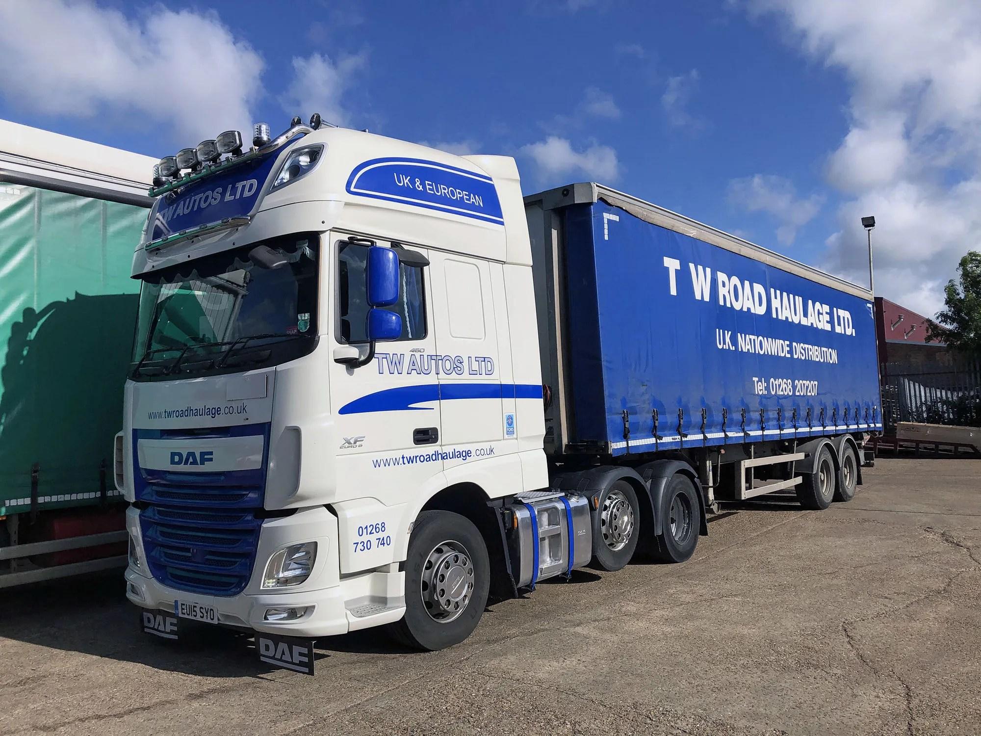 TW Road Haulage Ltd