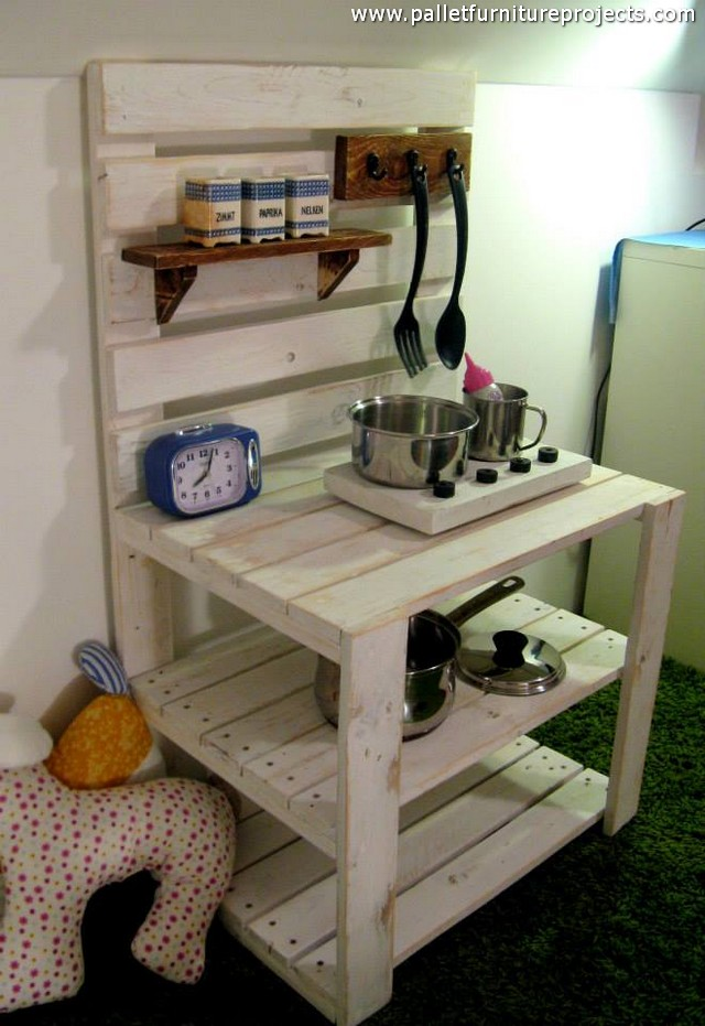 Pallet Mud Kitchen For Kids Pallet Furniture Projects
