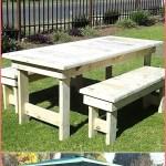Wood Pallet Outdoor Furniture Set Pallet Ideas