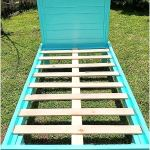 Pallets Made Twin Size Bed Frames Pallet Ideas