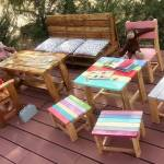 Kids Outdoor Furniture Made With Used Pallets Pallet Ideas