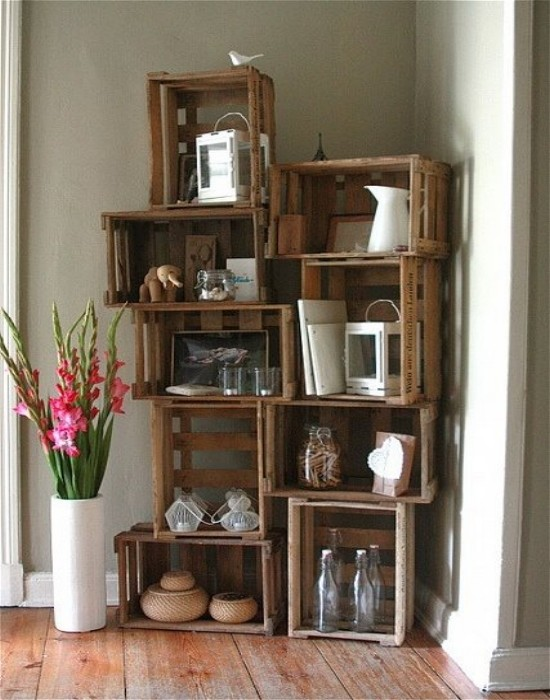 Pallets For Storage And Shelving Pallet Ideas