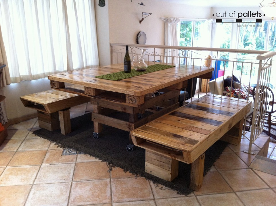 Image Result For Dining Room Table And Chairs With Wheels