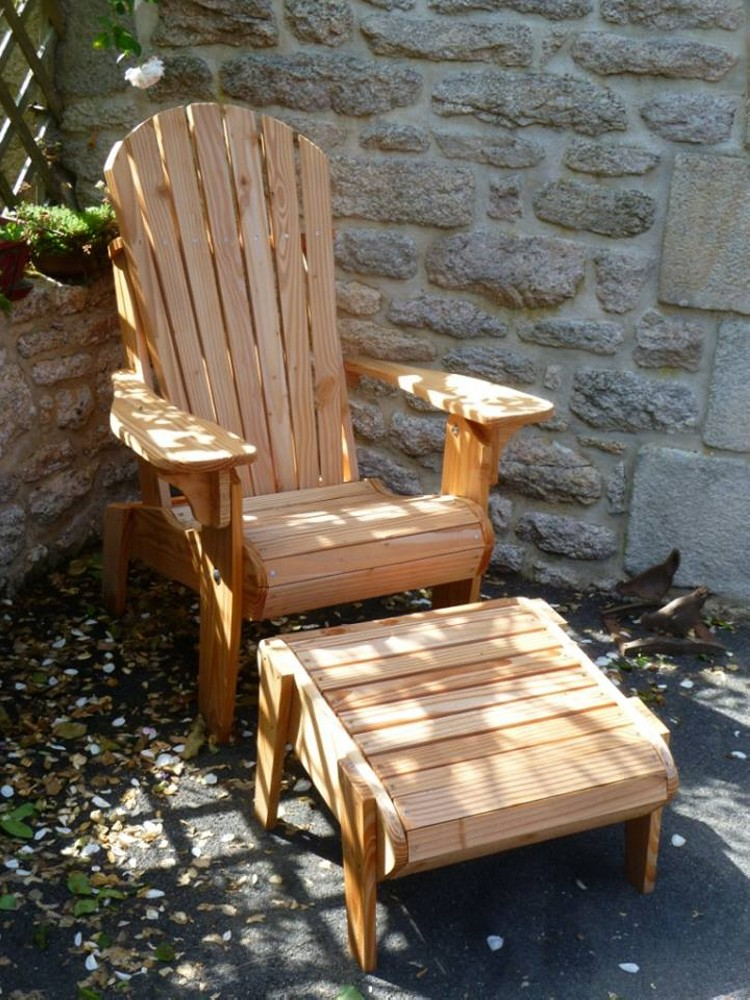 Pallets Made Patio Chair Set Pallet Ideas