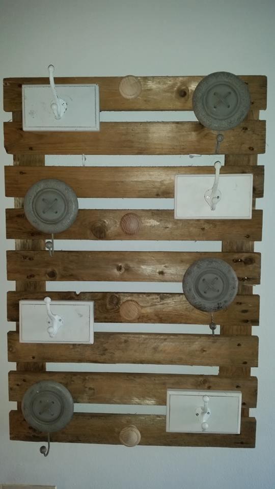 Wooden Pallet Wall Hanger Pallet Ideas