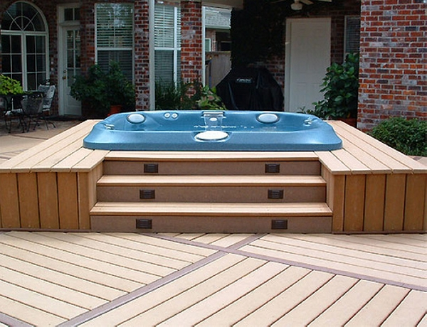 Pallet Hot Tub and Pool Deck Ideas | Pallet Ideas on Deck And Hot Tub Ideas  id=44666
