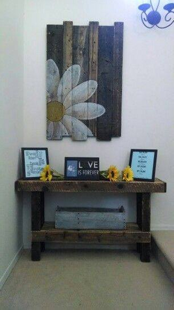 Wall Decor Ideas with Pallets | Pallet Ideas on Pallets Design Ideas  id=46758