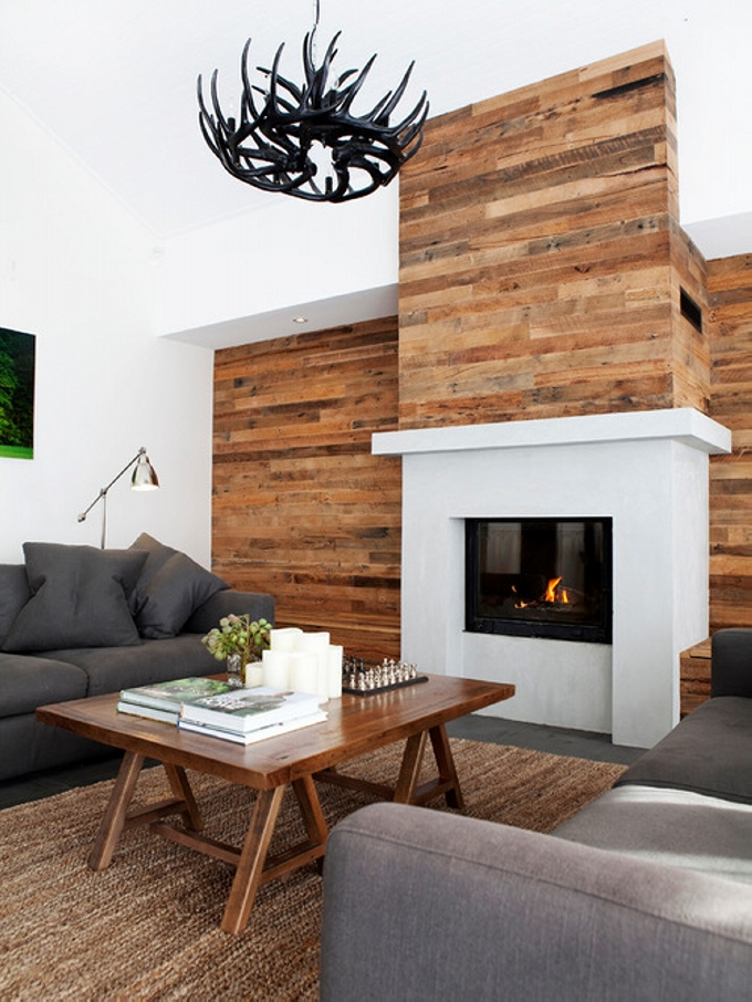 Pallet Wall Cladding | Pallet Ideas on Pallet Room Ideas  id=22566