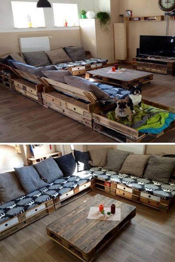 Stimulating Wooden Pallet Ideas | Pallet Ideas on Pallet Room  id=11121